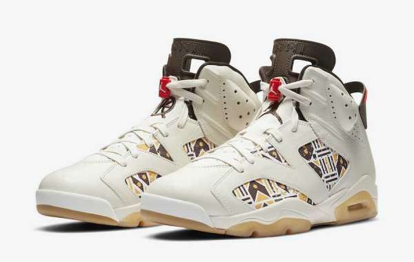 "CZ4152-100 Air Jordan 6 ""Quai 54"" Baroque Brown To Release In Full Family Sizing July 2020"