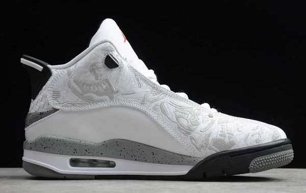"Air Jordan Dub Zero ""White Cement"" White/Cement Grey For Sale 311046-105"