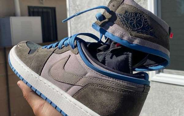 Jordan Brand Air Jordan 1 High SWITCH Converts From High to Low With Zippers
