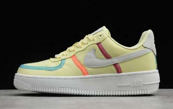 "Wmns Nike Air Force 1 '07 LX ""Life Lime"" 2020 New Released CK6572-700 For Sale"
