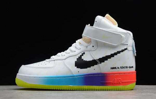 """Nike Air Force 1 High """"Have A Good Game"""" White/Luminous For Sale Online DC2112-192"""
