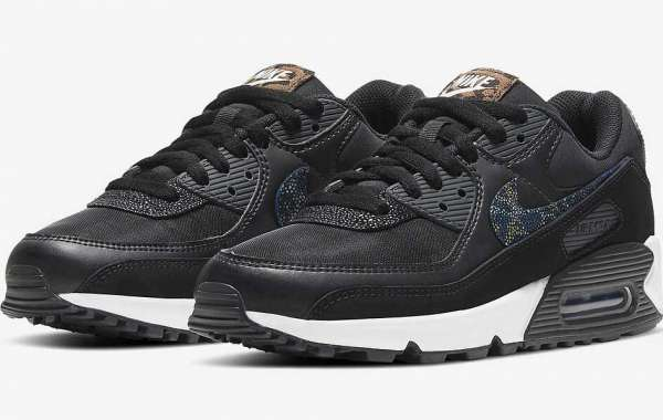 "Nike Is About To Launch This Nike Air Max 90 SE ""Black Safari"""