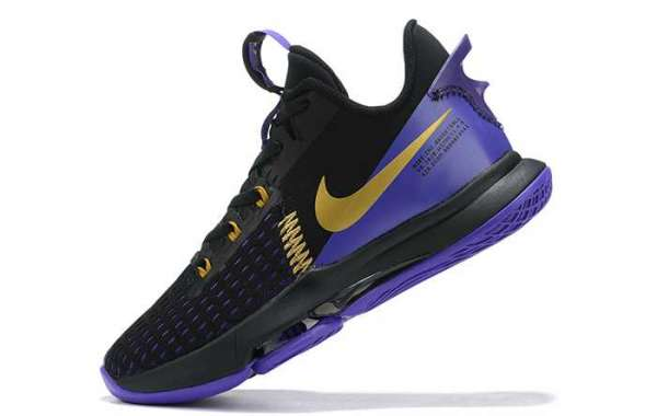 Gorgeous Lakers dress up! LeBron Witness 5 new color will be on sale soon