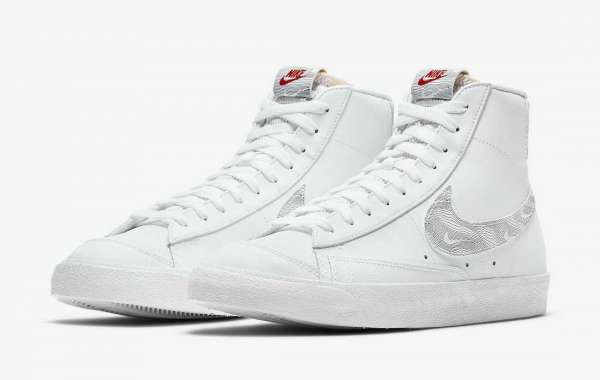 "DH3985-100 Nike Blazer Mid ""Topography Pack"" Releasing Soon"