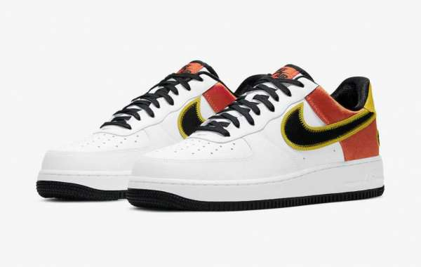 """CU8070-100 Nike Air Force 1 """"Raygun"""" will be released on January 2, 2021"""