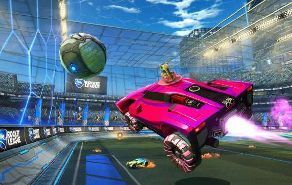 Players manage a rocket-powered automobile