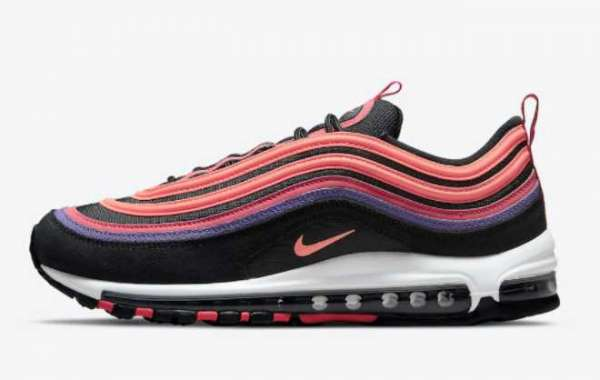 "Where To Buy Nike Air Max 97 ""Sunset"" DJ5137-001 ?"