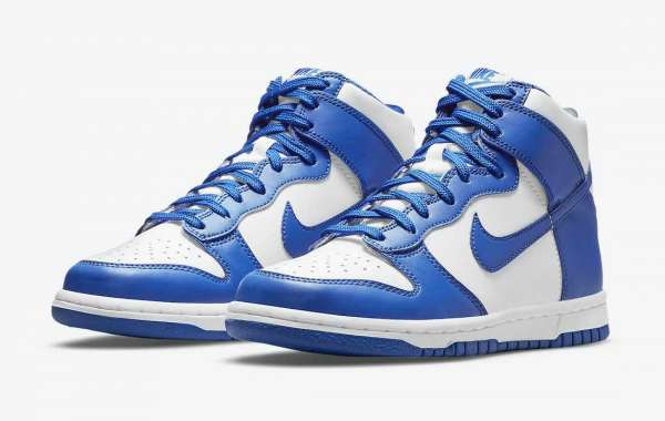 "Nike Dunk High ""Game Royal"" DD1399-102 2021 New Released"