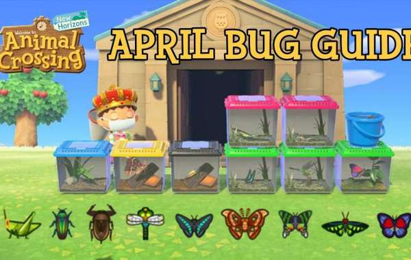 Animal Crossing: New Horizons April 2021 Bugs