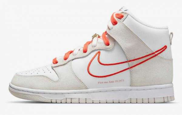 New Arrivals Nike Dunk High First Use Coming With Orange Accents